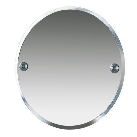 Miller Metro Chrome Oval Bevelled Mirror